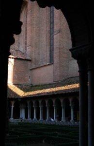 Le cloître des Jacobins de Toulouse